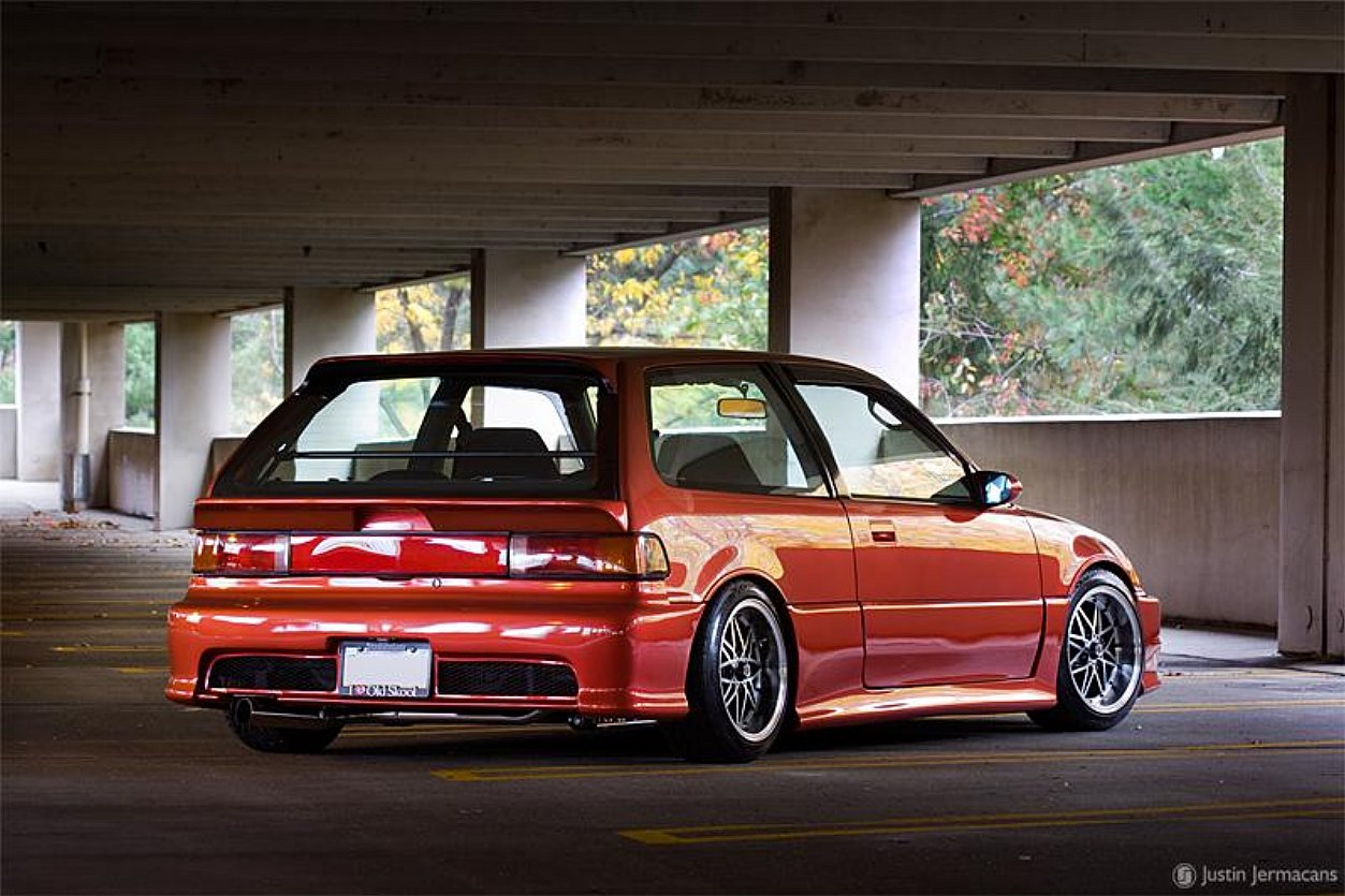 Picture of 1995 honda civic si hatchback exterior - Generation 4 1987 1991
