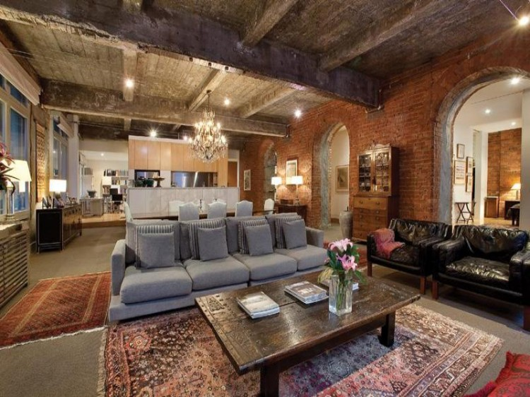 A Warehouse Converted To A Loft In Melbourne Character